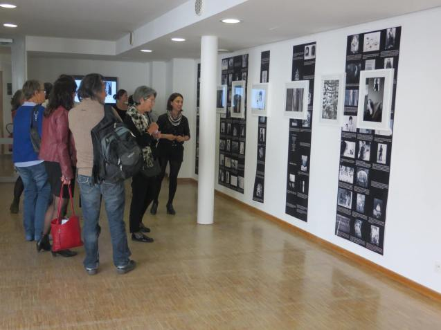 Vue d'exposition-Femmes et Modernité, Biennale d'art contemporain, Galerie La Librairie (ENS), Lyon, 2015