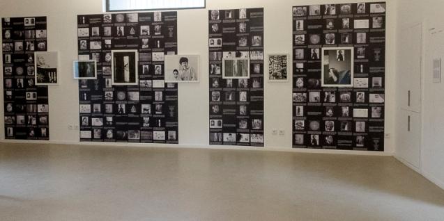 Mémoire aveugle, Vue d'exposition, Couvent Saint-Césaire, Les rencontres photographie, Arles, 2014