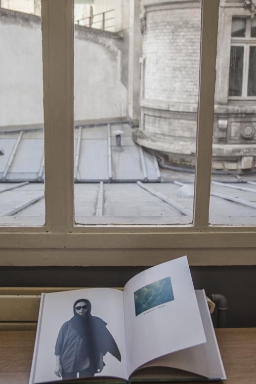 « Topos », Vue d'exposition « Exils », La Nuit de l'ICART, Paris, 2017.