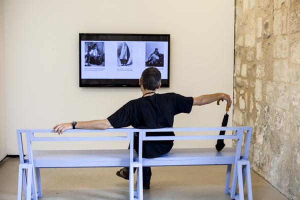 Harmonie nocturne, Vue d'exposition, Couvent Saint-Césaire, Les rencontres photographie, Arles, 2014