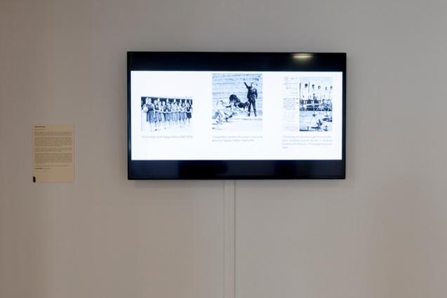 Harmonie nocturne, Vue d'exposition-Femmes et Modernité, Biennale d'art contemporain, Galerie La Librairie (ENS), Lyon, 2015