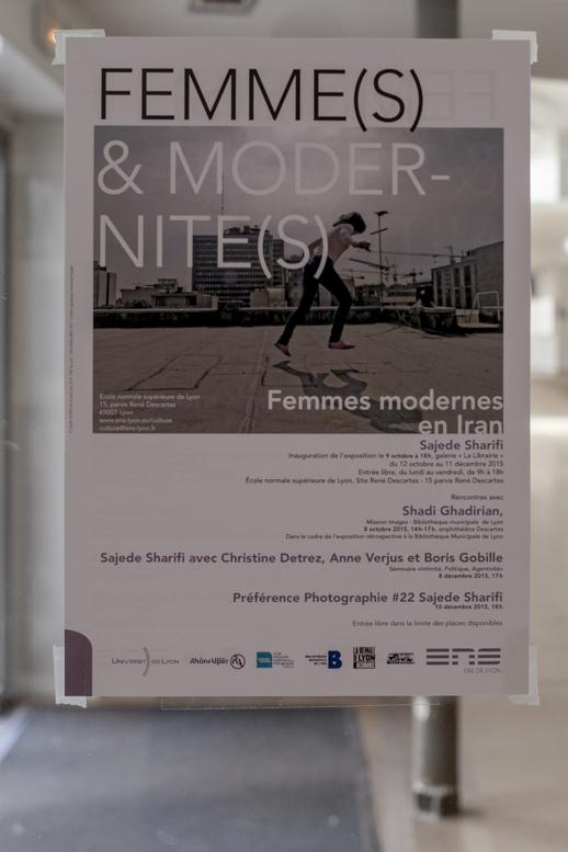 Femmes et Modernité, Bienale d'art contemporain, Galerie La Librairie (ENS), Lyon, 2015