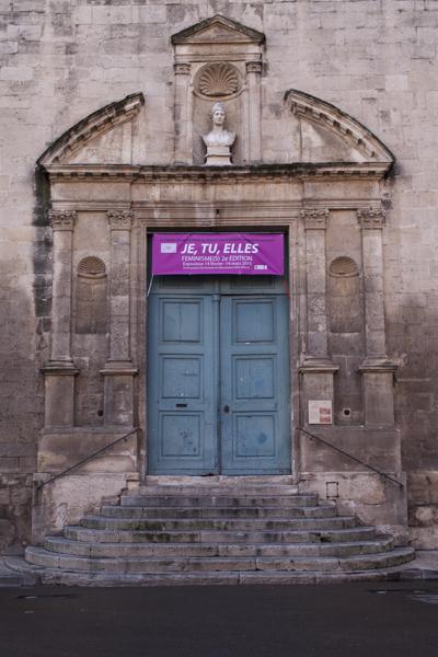 Exposition-Feminisme II, La Chapelle Sainte Anne, Arles, 2015