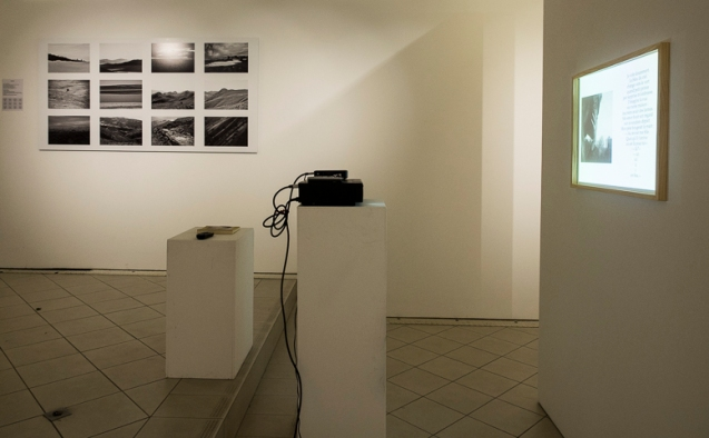 Zéphyr, Vue d'exposition, Galerie Aréna, Arles, 2014