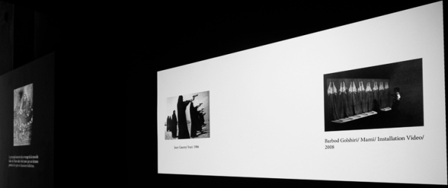 Mémoire aveugle, Vue d'exposition, Galerie Aréna, Arles, 2014