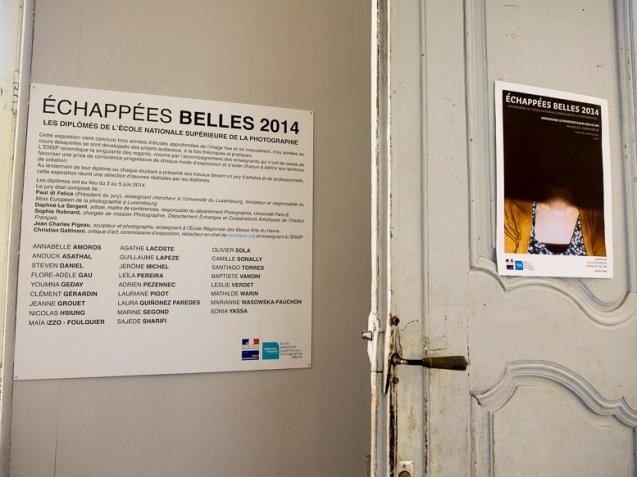 Mémoire aveugle, Vue d'exposition, Palais de l'archevêché, Arles, 2014