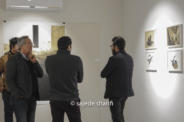 « Between the lines », Exhibition view / Farmanfarma Gallery, Tehran , 2018.